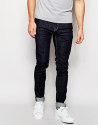 Only And Sons Indigo Jeans In Super Skinny Fit Blue