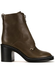 Rag And Bone 'Shelby' Boots Green