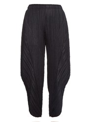 Issey Miyake Lightweight Pleated Balloon Trousers