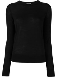 Forte Forte Crew Neck Jumper Black