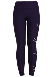 Nike Performance Tights Purple Dynasty Bleached Lilac Black