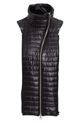 Veronica Beard Women's Quilted Funnel Neck Dickey Black