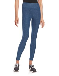 Bench Textured Knit Leggings Dutch Blue