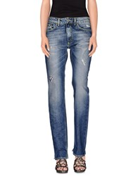 Dondup Standart Denim Denim Trousers Women Blue