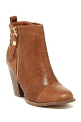 Anna Gina High Heel Bootie Brown