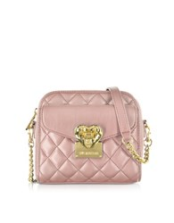 Love Moschino Quilted Small Shoulder Bag Pink