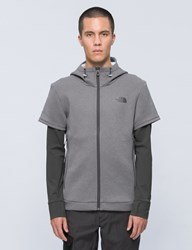 The North Face Get Better Hybrid Zipup Hoodie
