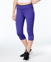 Reebok Reversible Speedwick Capri Leggings Ultra Purple