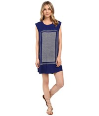 Roxy Sun Rays Dress Blue Print Women's Dress