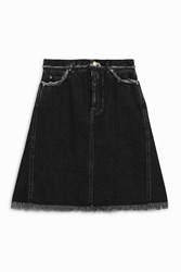 Acne Studios Gisella Black Denim Skirt