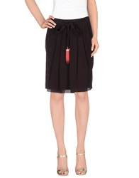 Vdp Collection Skirts Knee Length Skirts Women Cocoa