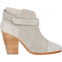 Rag And Bone Women's Harrow Ankle Boots Light Grey