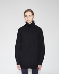 Acne Studios Isa Turtleneck Black
