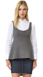 Milly Logan Top Charcoal