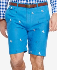 Polo Ralph Lauren Big And Tall Classic Fit Embroidered Shorts Boysenberry