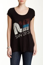 Rebel Yell San Diego Graphic Tee Black