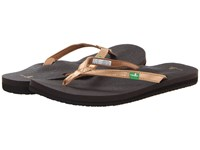 Sanuk Yoga Joy Metallic Rose Gold Women's Sandals