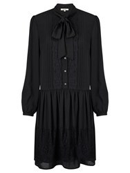 Alice By Temperley Somerset By Alice Temperley Tie Neck Dress Black