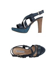Donna Piu Footwear Sandals Women Slate Blue