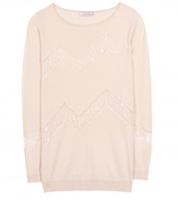Nina Ricci Wool And Cashmere Blend Sweater Pink