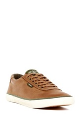 Barbour Valient Leather Sneaker Brown