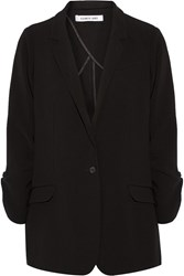 Elizabeth And James Jamie Crepe Blazer Black