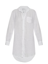 Frank And Eileen Mary Linen Shirtdress