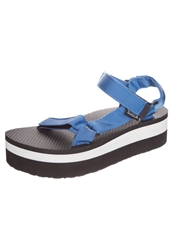 Teva Flatform Universal Platform Sandals French Blue