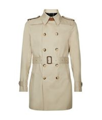 Sandro Magnetic Trench Coat Beige