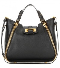 Tom Ford Sedgwick Mini Leather Tote Black