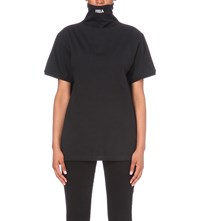 Hood By Air Idiot Cotton Jeresy Top Black