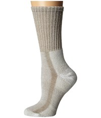 Thorlos Light Hiking Crew Single Pair Khaki Women's Crew Cut Socks Shoes