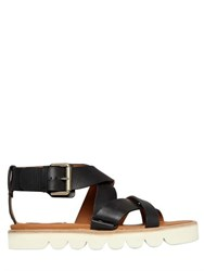 See By Chloe 20Mm Crisscross Leather Sandals