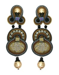Dori Csengeri Jewellery Earrings Women Grey
