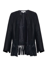 Elizabeth And James Fringe Garvin Leather Jacket