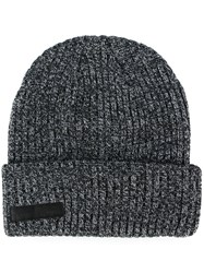 Stampd Ribbed Beanie Hat Grey
