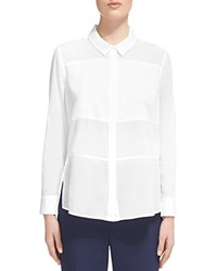Whistles Cotton Voile Shirt White