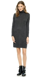 Steven Alan Sanford Oversized Cashmere Dress Grey