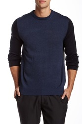 Toscano Long Sleeve Pullover Sweater Gray