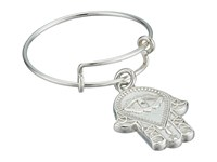 Alex And Ani Precious Expandable Wire Ring Silver Hand Of Fatima Ring