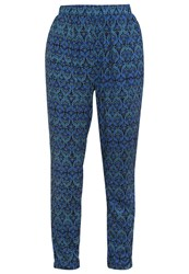 Vero Moda Vmnewmaker Trousers North Atlantic Esther Turquoise