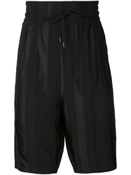 Alexandre Plokhov Drop Crotch Trousers Black