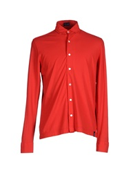 Drumohr Shirts Red