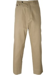 Hope 'Edwin' Drop Crotch Trousers Nude And Neutrals
