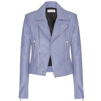 Balenciaga Leather Jacket Lilac
