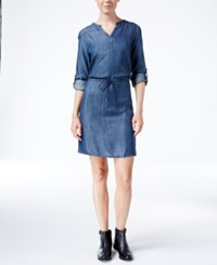 Levi's Mitchell Chambray Shirtdress Dark Denim Tencel