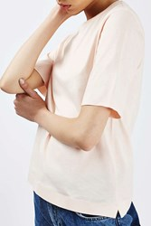 Boutique Cotton Taped Tee By Pale Pink