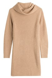 Polo Ralph Lauren Wool Turtleneck Pullover With Cashmere Camel