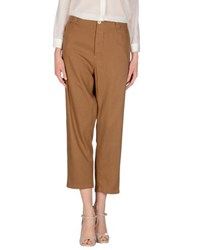 Momoni Momoni Trousers Casual Trousers Women Khaki