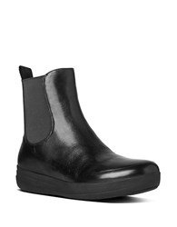 Fitflop Chelsea Tm Leather Boots Black
